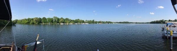 Blick über den Lehnitzsee